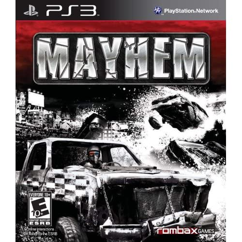 Image 0 of Mayhem 3D For PlayStation 3 PS3 Racing