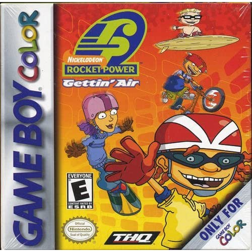 Rocket Power: Gettin' Air On Gameboy Color