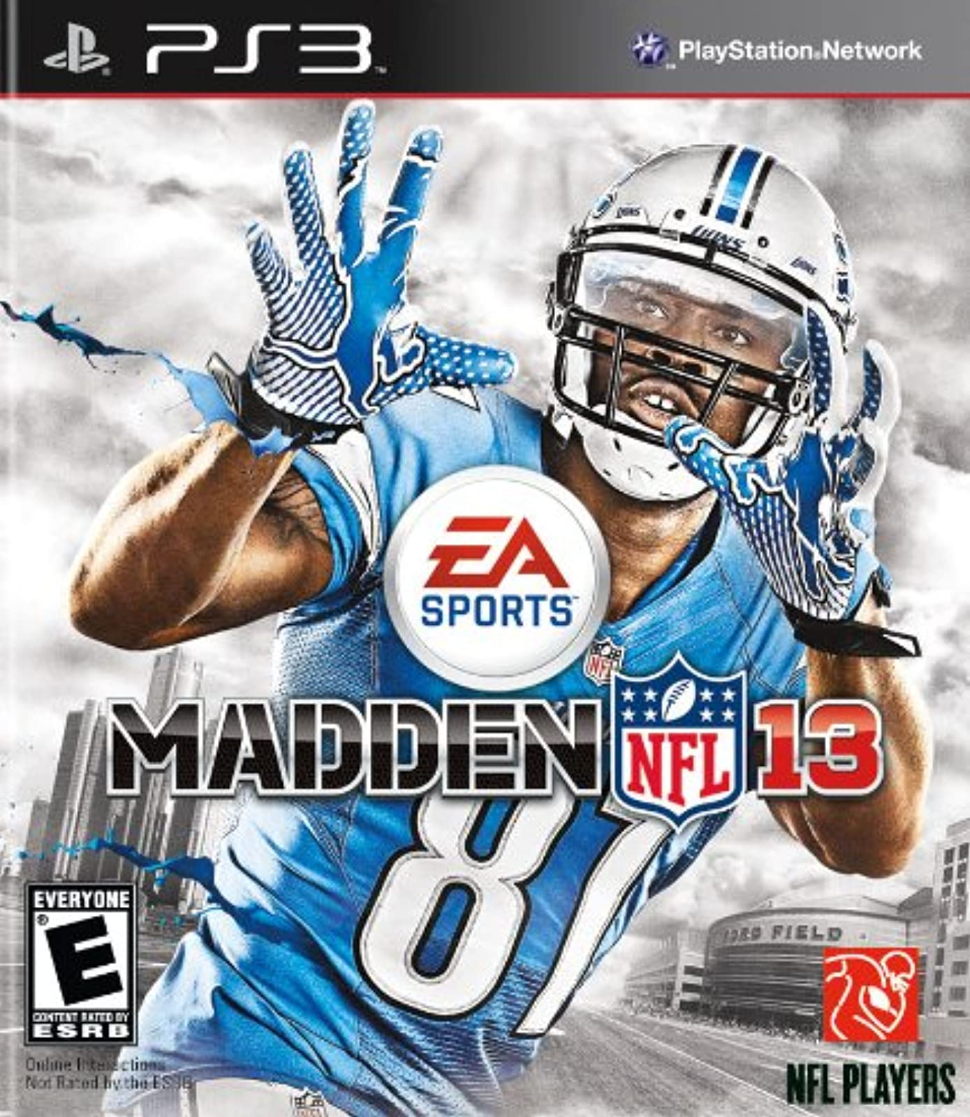 Madden NFL 13 For PlayStation 3 PS3 Football
