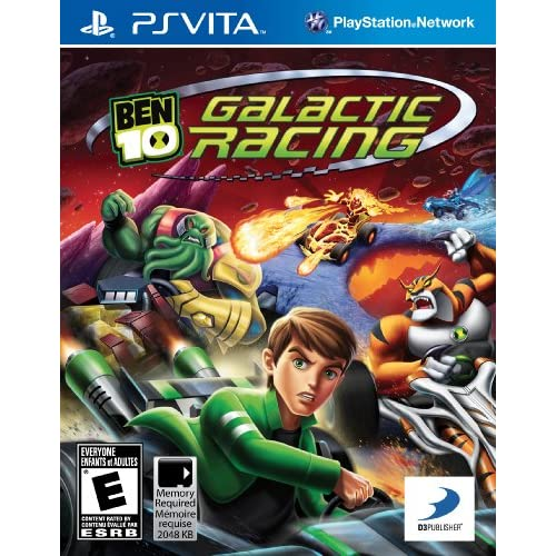 Ben 10 Galactic Racing PlayStation Vita For PS Vita