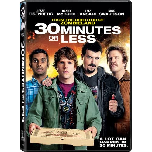 30 Minutes Or Less On DVD With Jesse Eisenberg Comedy