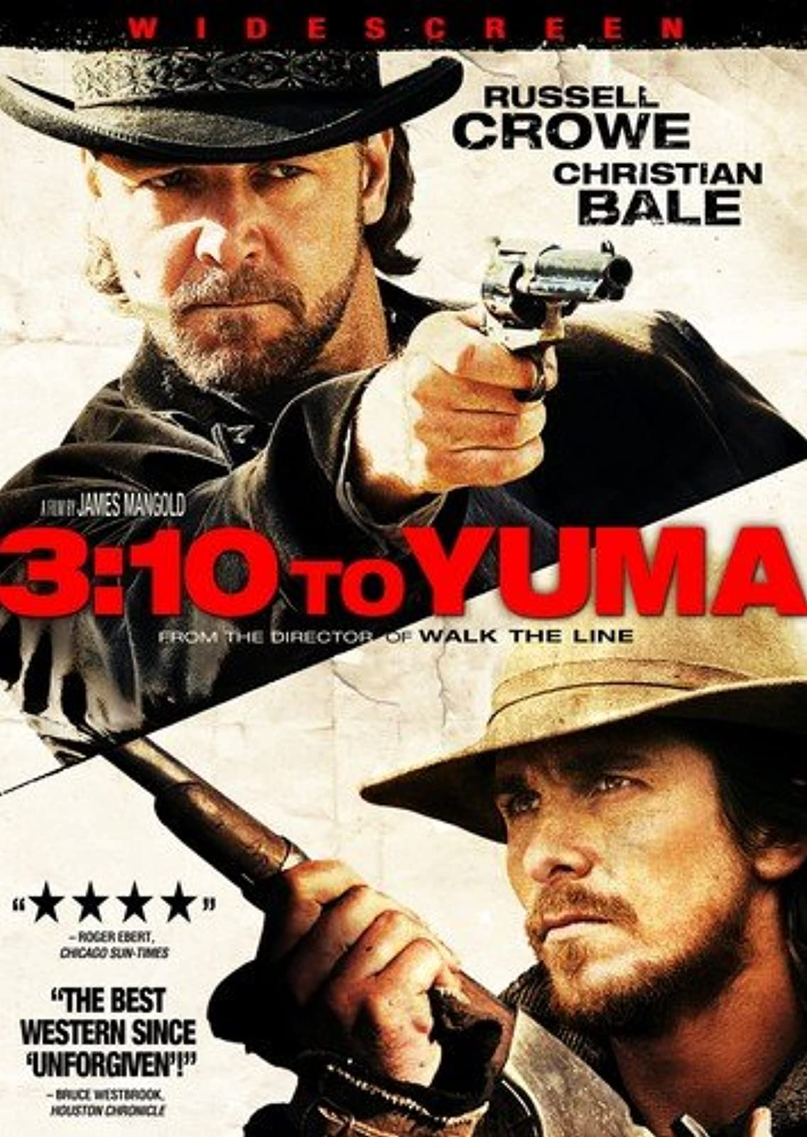 3:10 To Yuma Widescreen Edition On DVD With Russell Crowe Westerns