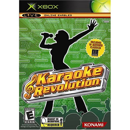 Karaoke Revolution Xbox For Xbox Original RPG
