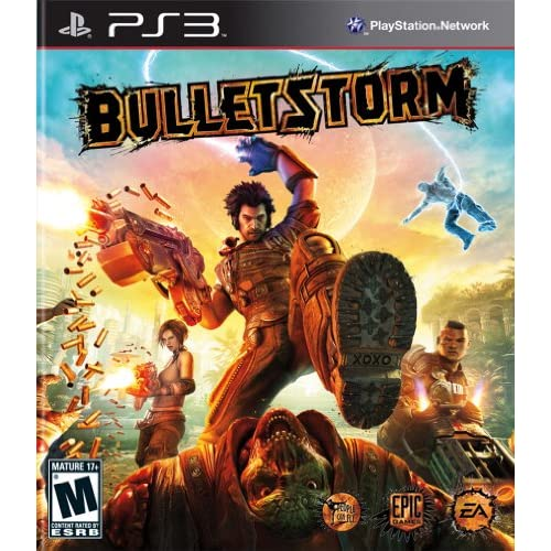 Bulletstorm For PlayStation 3 PS3 Shooter