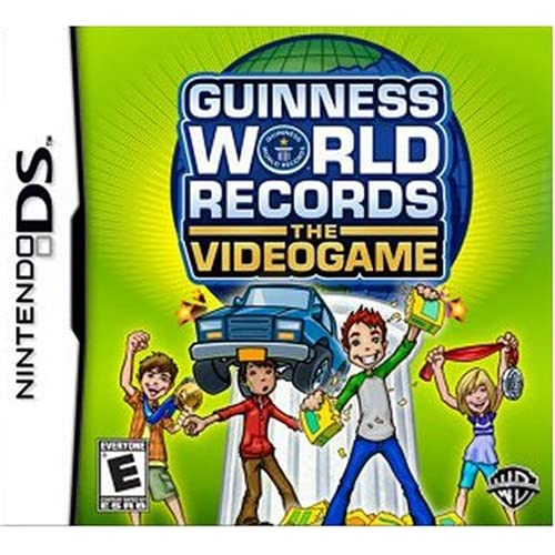 Guinness World Records: The Videogame For Nintendo DS DSi 3DS 2DS Trivia