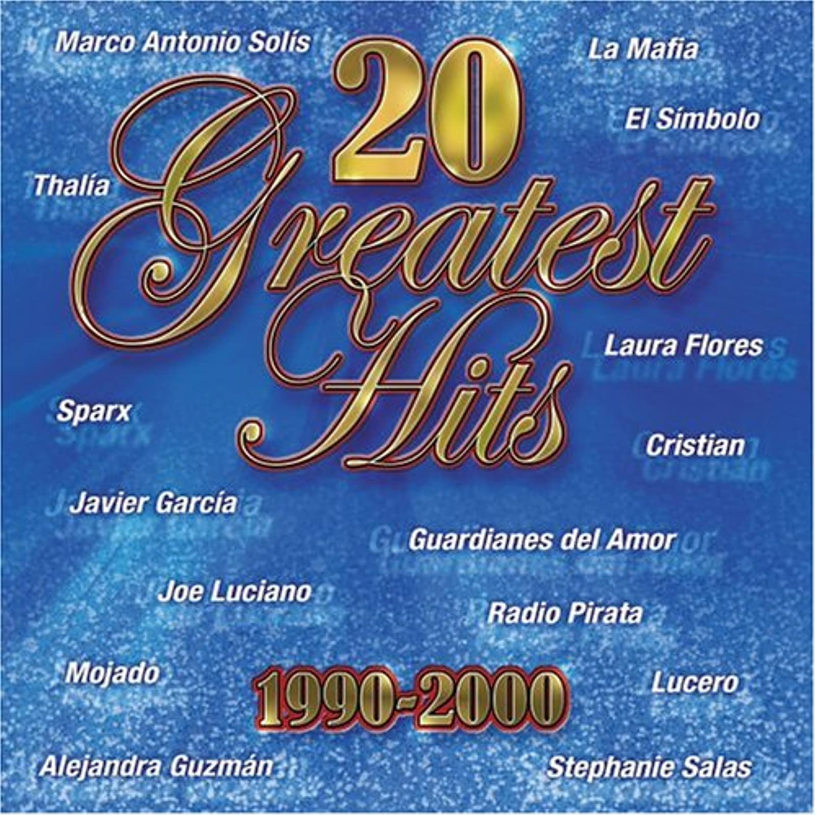 20 Greatest Hits 1990-2000 By 20 Greatest Hits 1990-00 On Audio CD