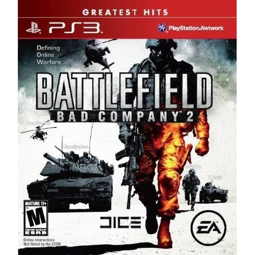 Battlefield Bad Company 2 Greatest Hits For PlayStation 3 PS3 Fighting