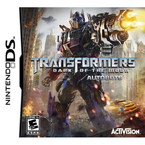 Transformers: Dark Of The Moon Autobots For Nintendo DS DSi 3DS 2DS