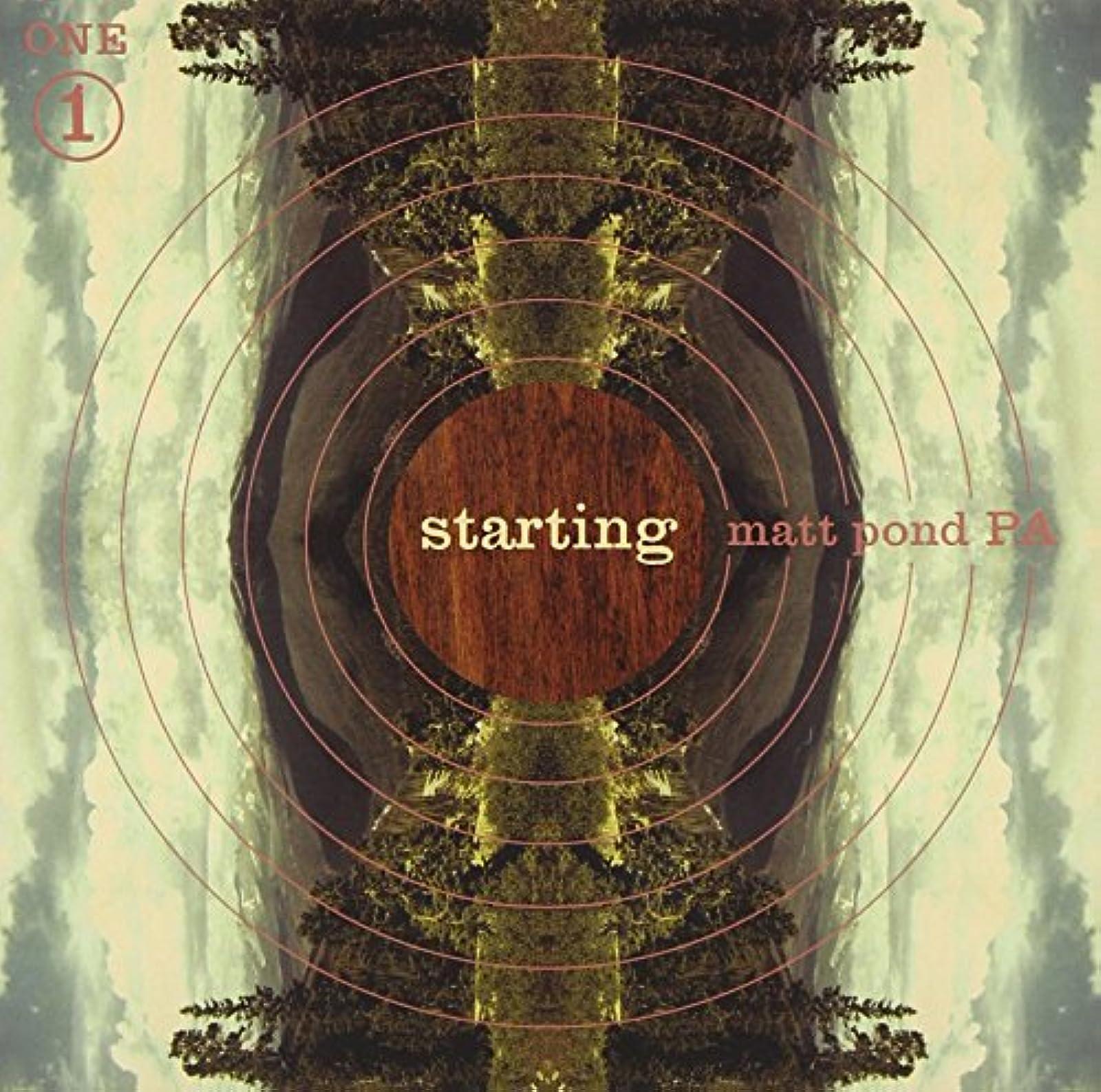 Starting By Matt Pond Pa On Vinyl Record LP