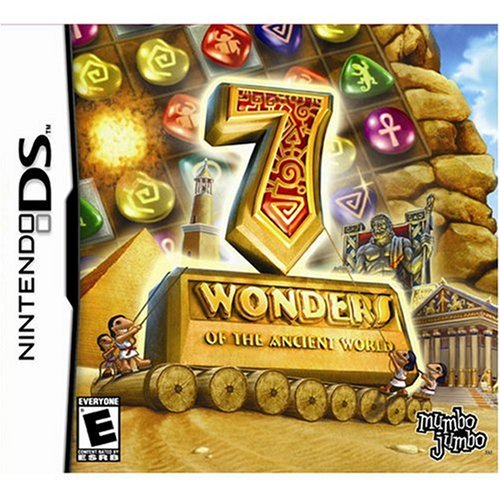 7 Wonders Of The Ancient World For Nintendo DS DSi 3DS 2DS Puzzle