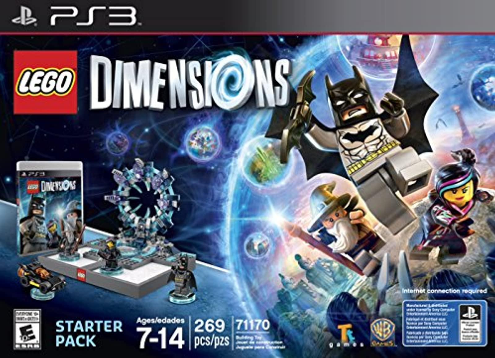 Lego Dimensions Starter Pack For PlayStation 3 PS3