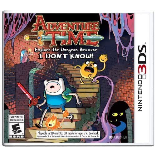 Adventure Time: Explore The Dungeon Because I Don't Know! For 3DS