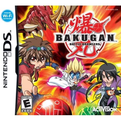Bakugan Battle Brawlers Nds For Nintendo DS DSi 3DS 2DS
