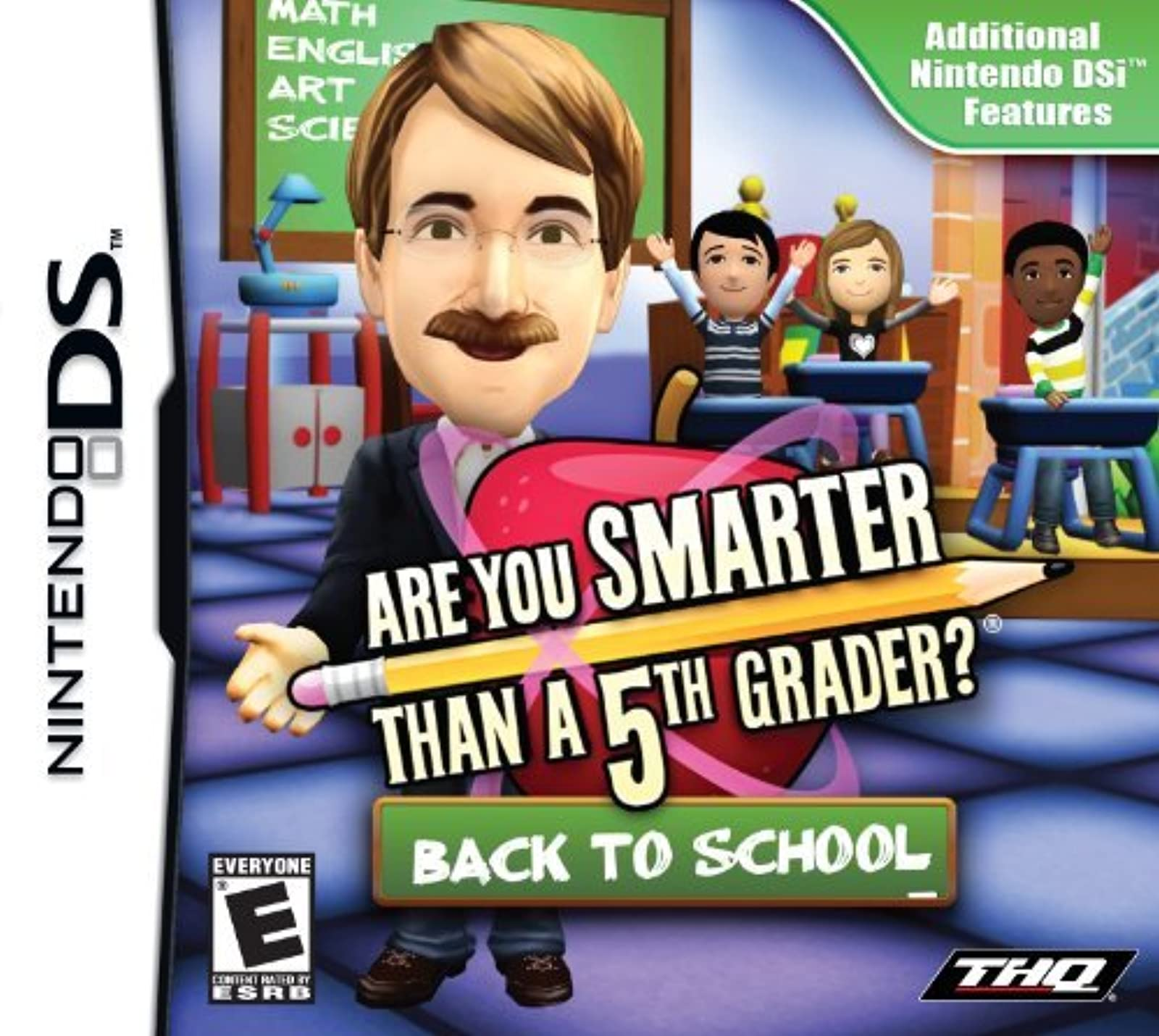 Are You Smarter Than A 5th Grader: Back To School For Nintendo DS DSi 3DS Trivia