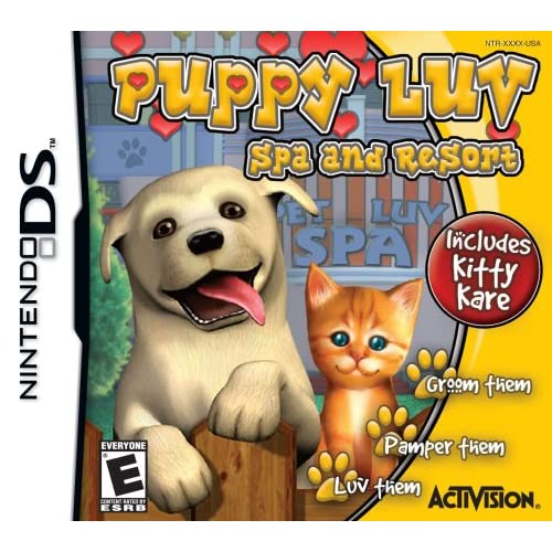 Puppy Luv Spa And Resort For Nintendo DS DSi 3DS 2DS