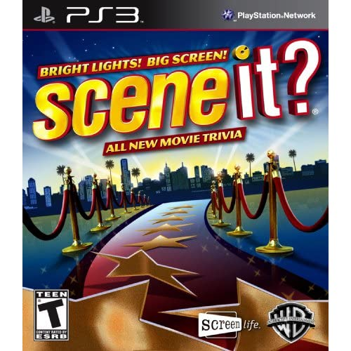 Scene It? Bright Lights! Big Screen! For PlayStation 3 PS3 Trivia