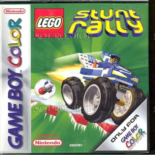 Lego Stunt Rally Game Boy Color PAL On Gameboy