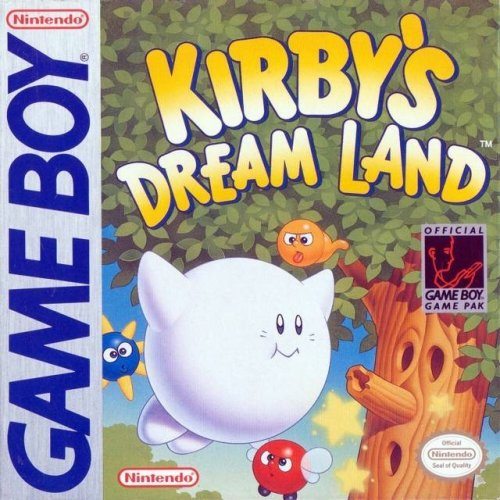 Kirby's Dream Land On Gameboy