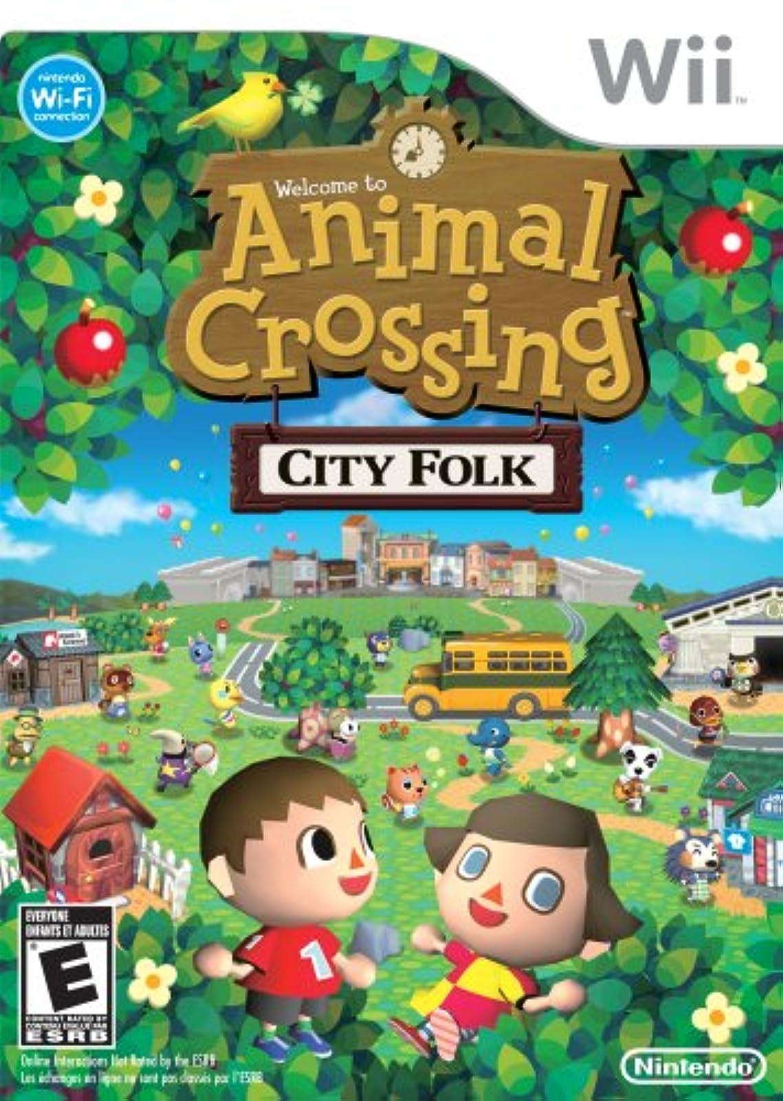Animal Crossing: City Folk For Wii