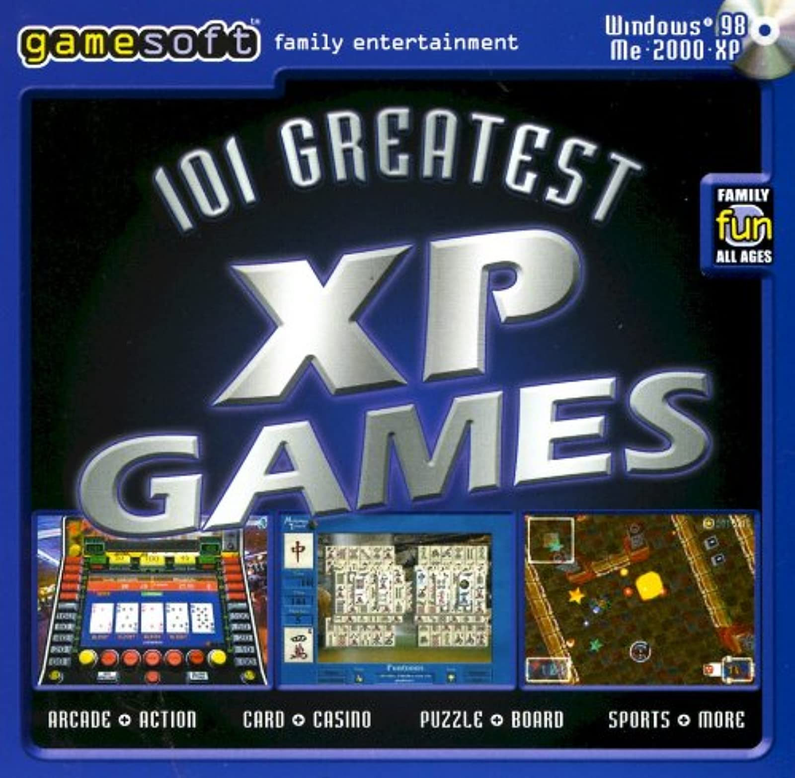 101 Greatest XP PC Games Vol 1 Software