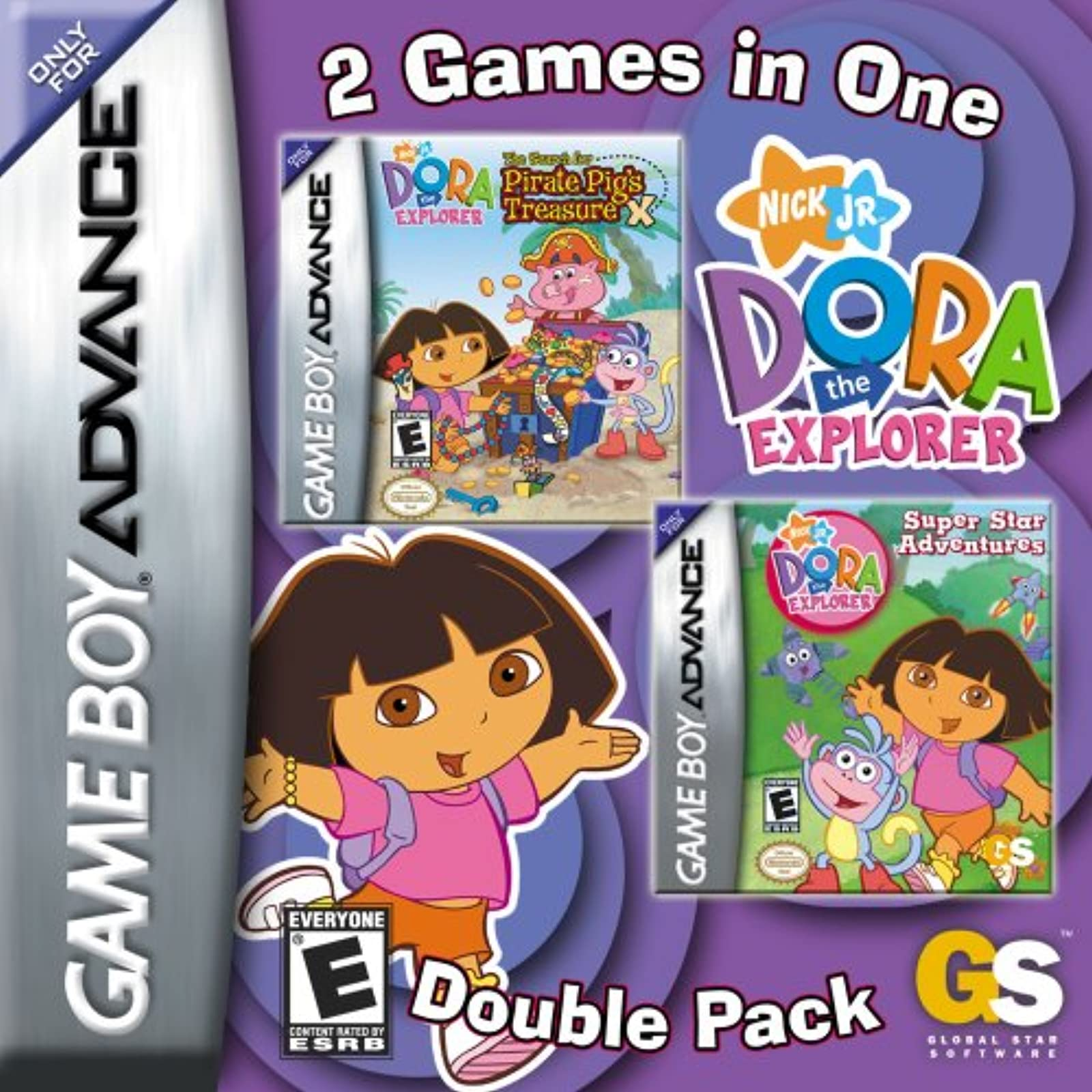 Dora The Explorer Super Star Adventures & The Search For Pirate Pig's Treasure D
