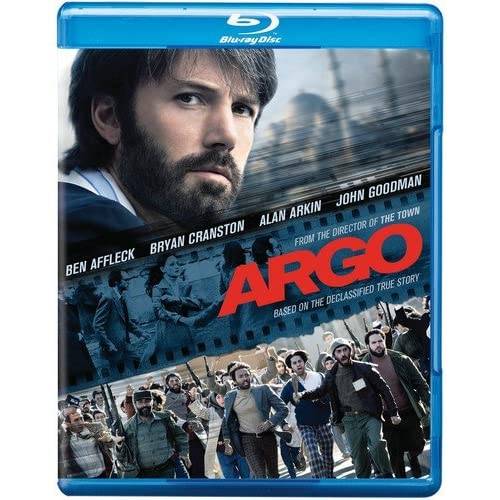 Argo Blu-Ray On Blu-Ray With Ben Affleck