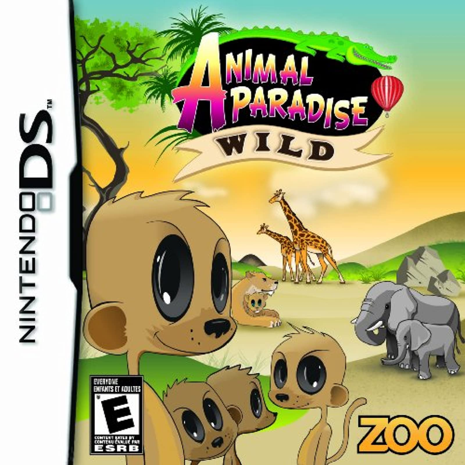 Animal Paradise Wild For Nintendo DS DSi 3DS