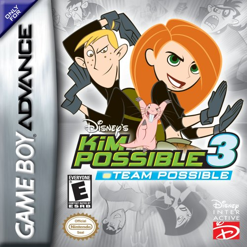 Disney's Kim Possible 3 For GBA Gameboy Advance