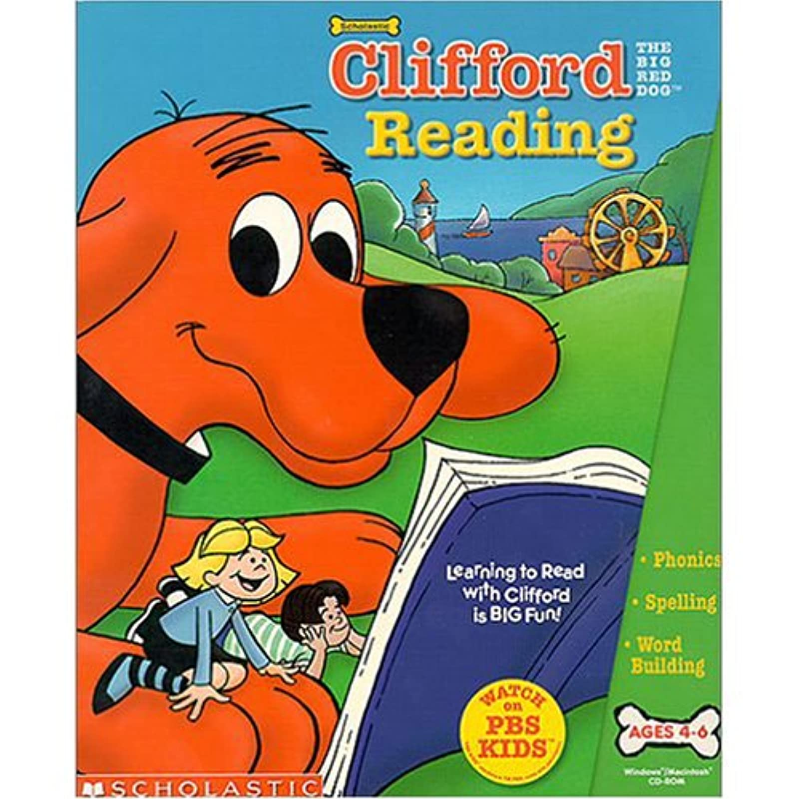 Clifford The Big Red Dog Reading PC Software