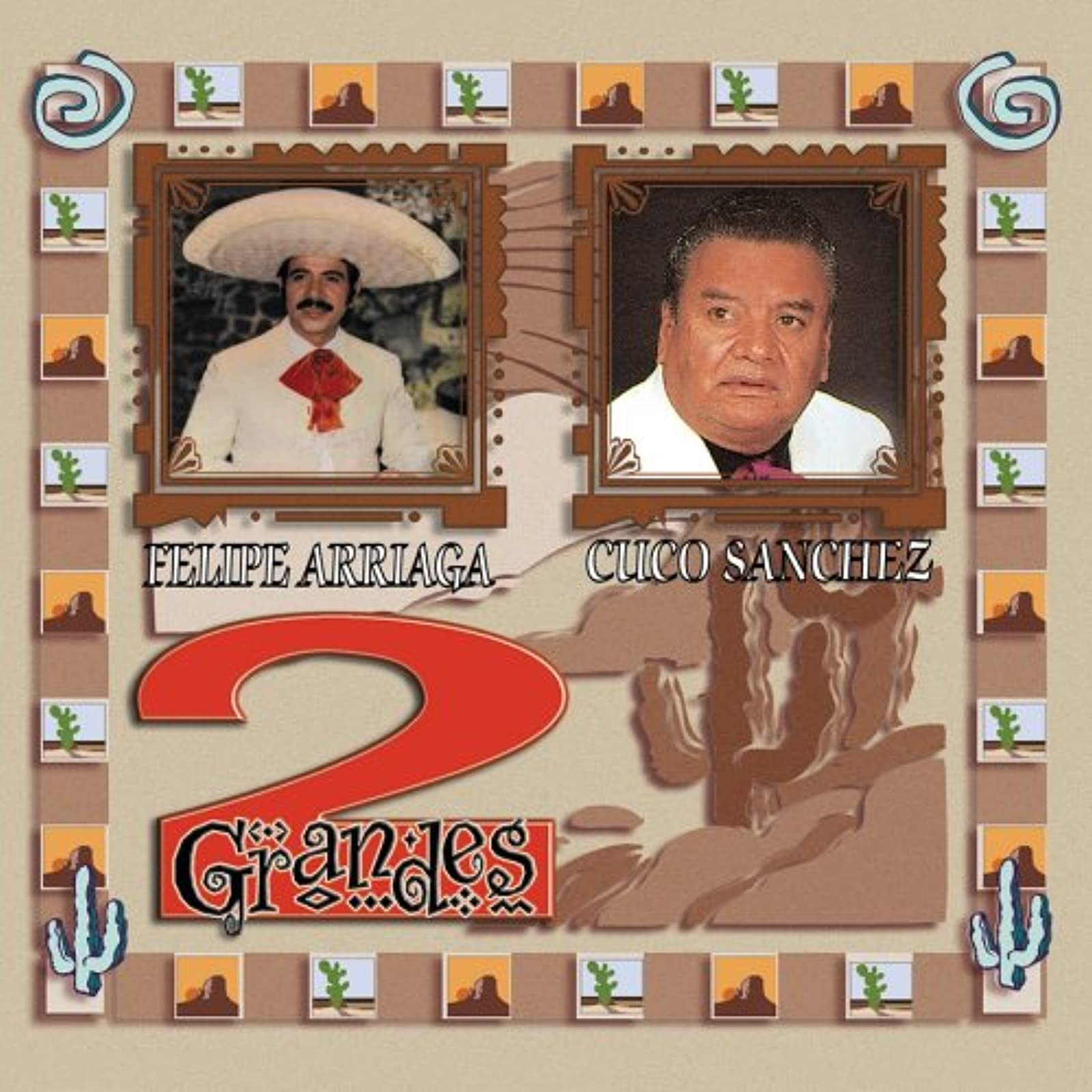 2 Grandes By Arriaga Felipe Sanchez Cuco Blues Album World Music 2000 On Audio C