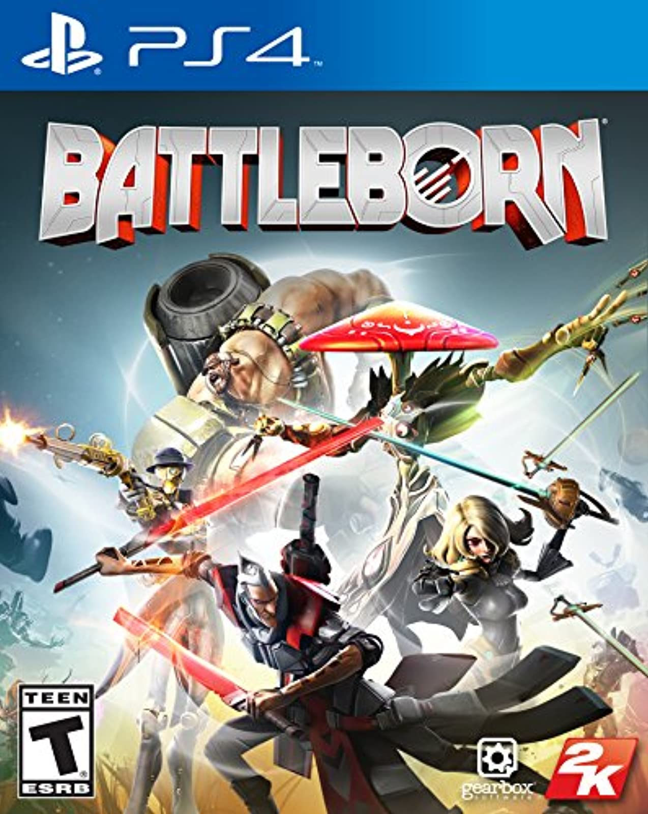 Battleborn For PlayStation 4 PS4 Shooter