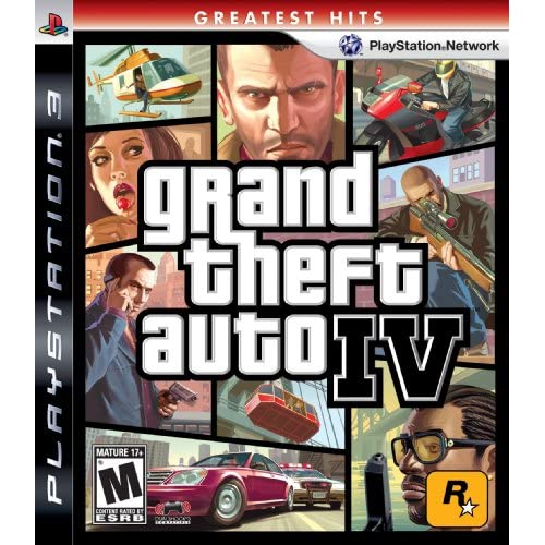 Grand Theft Auto IV For PlayStation 3 PS3 Racing