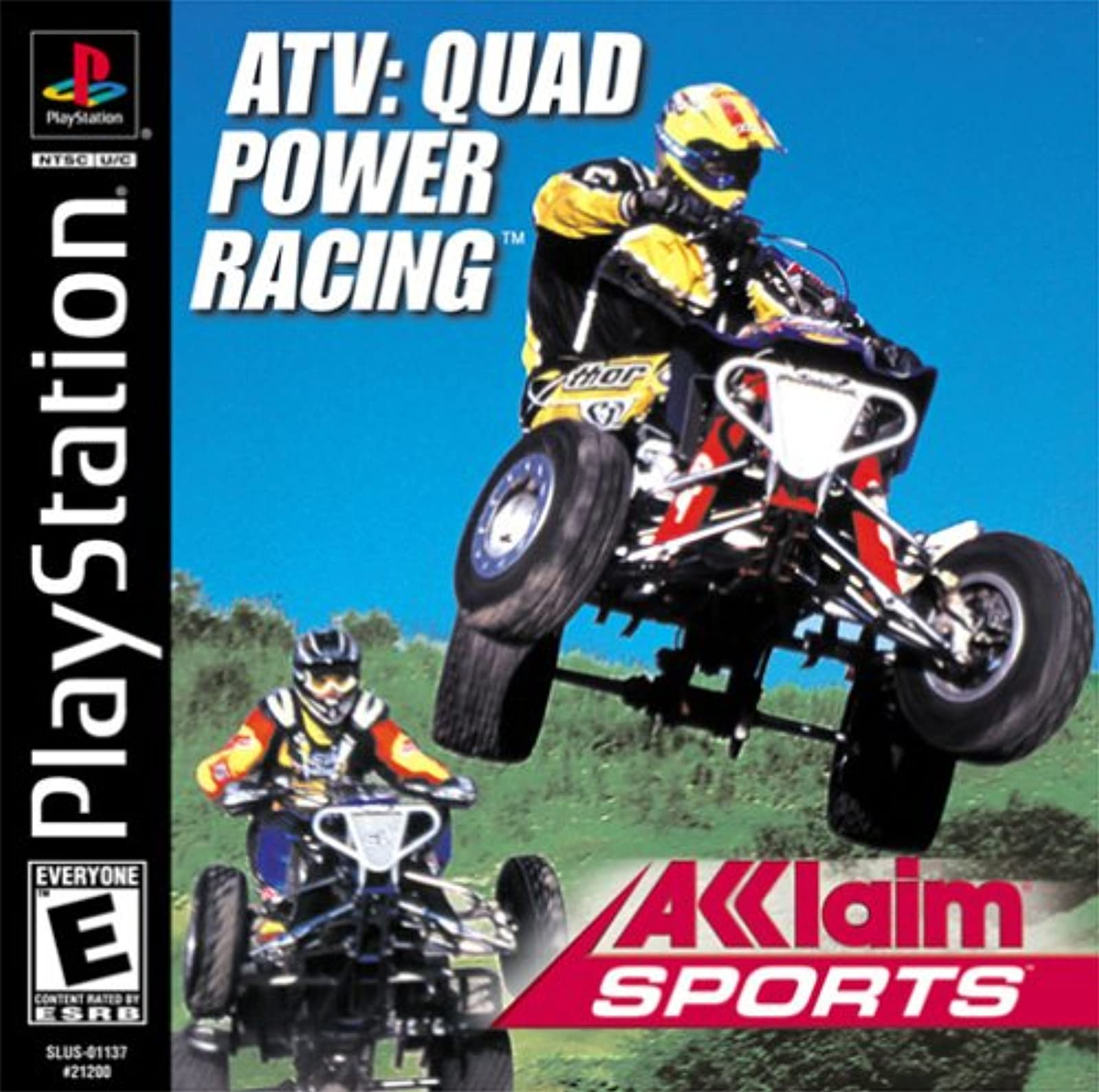 ATV Quad Power Racing PS1 For PlayStation 1