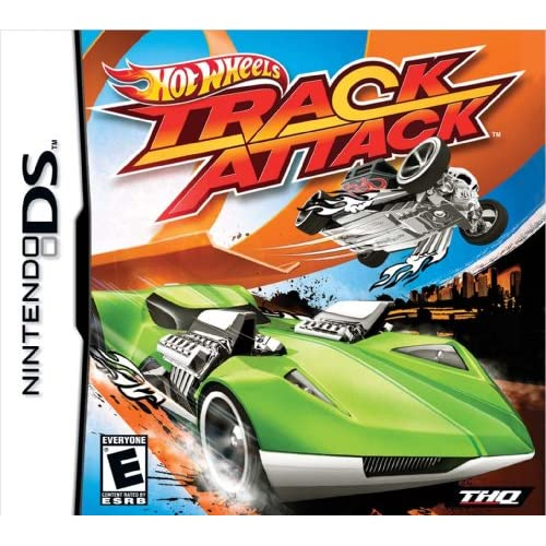 Hot Wheels Track Attack For Nintendo DS DSi 3DS Racing