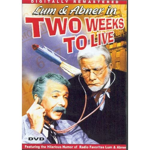 Image 0 of Two Weeks To Live Slim Case On DVD with Lum 2