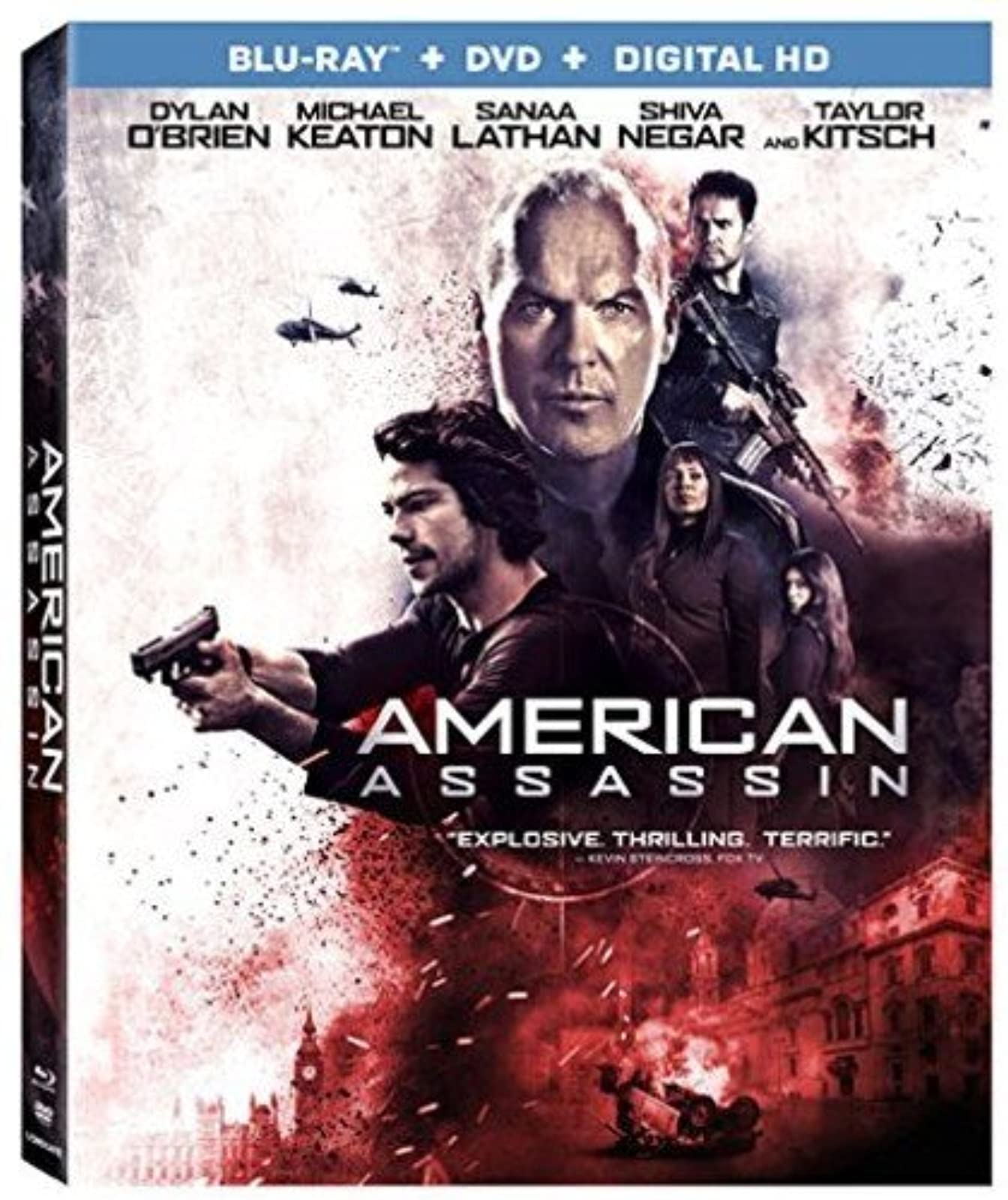 American Assassin Blu-Ray On Blu-Ray With Dylan O'brien