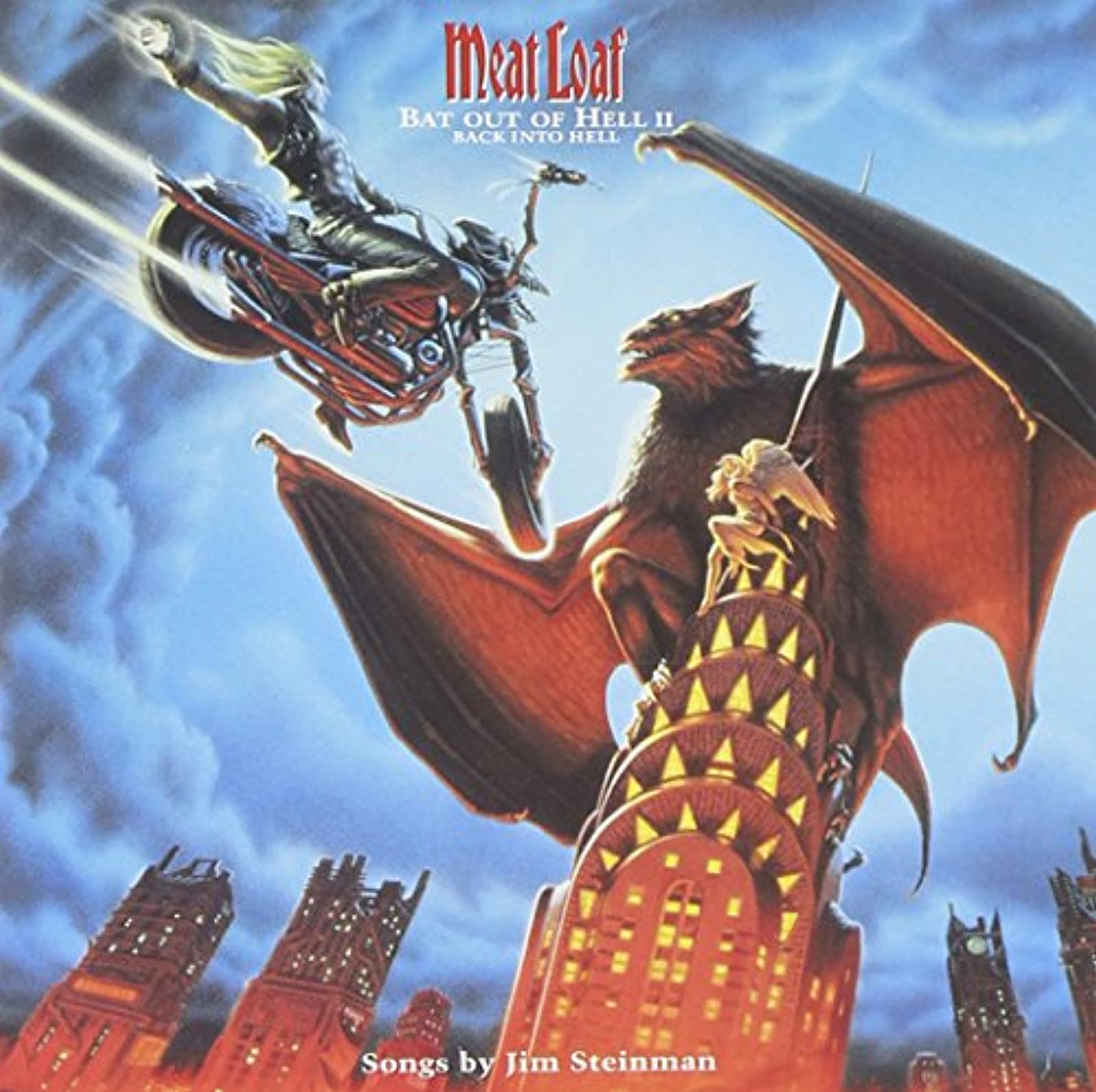 Image 0 of Bat Out Of Hell II: Back Into Hell By Meat Loaf On Audio CD Album 1993