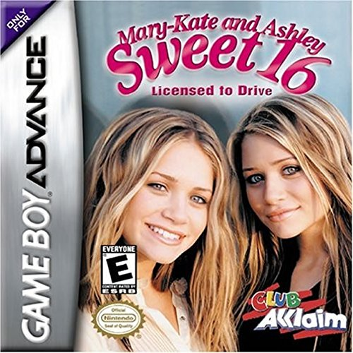 Mary-Kate And Ashley: Sweet 16 Licensed To Drive For GBA Gameboy