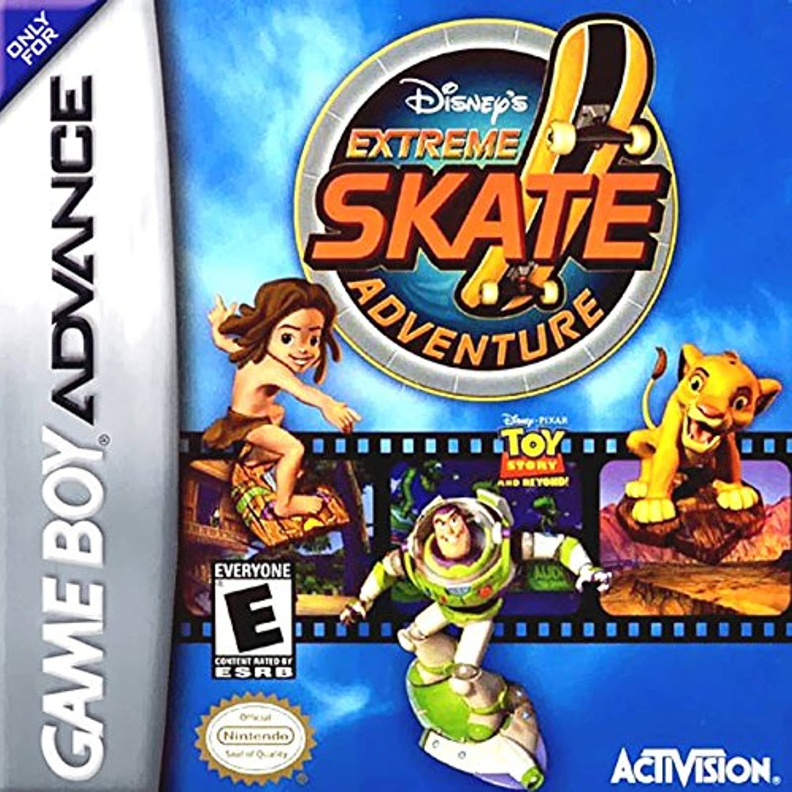 Disney's Extreme Skate Adventure For GBA Gameboy Advance Racing
