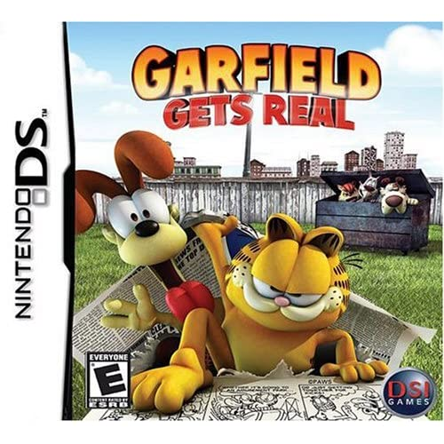 Garfield Gets Real For Nintendo DS DSi 3DS 2DS