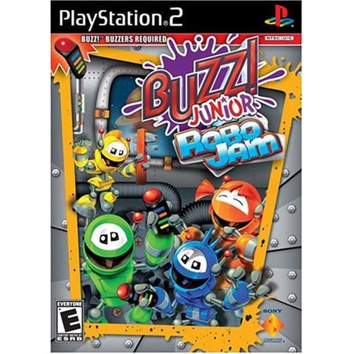 Buzz Jr: Robo Jam Stand Alone For PlayStation 2 PS2 Puzzle