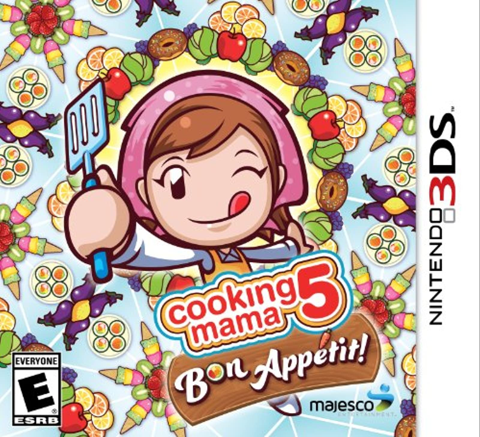 Cooking Mama 5: Bon Appetit! Nintendo Standard Edition For 3DS