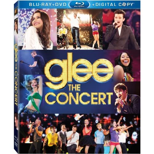 Glee: The Concert Movie Blu-Ray/dvd On Blu-Ray With Dianna Agron Music