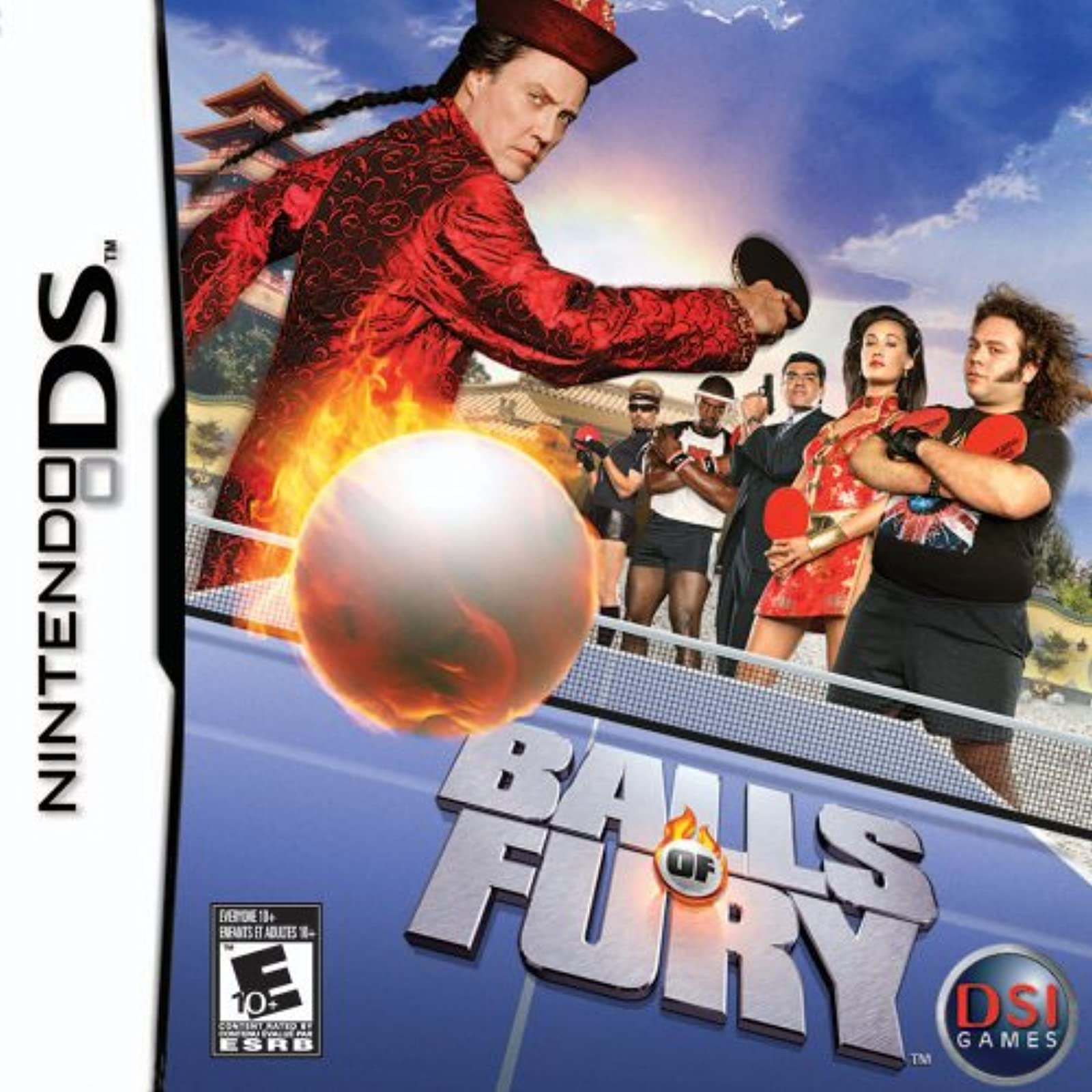 Balls Of Fury For Nintendo DS DSi 3DS 2DS