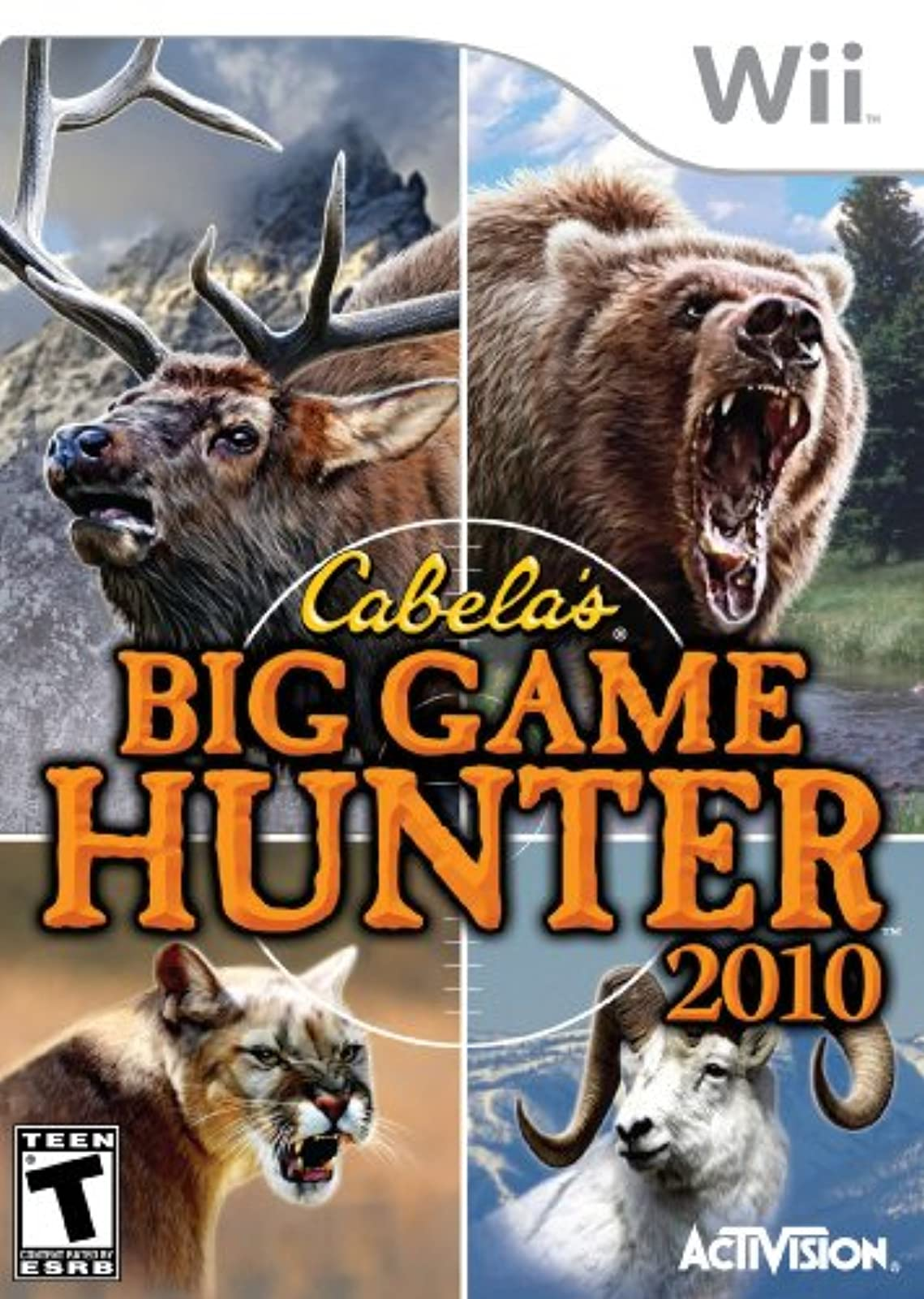 Cabela's Big Game Hunter 2010 Game Only For Wii Shooter