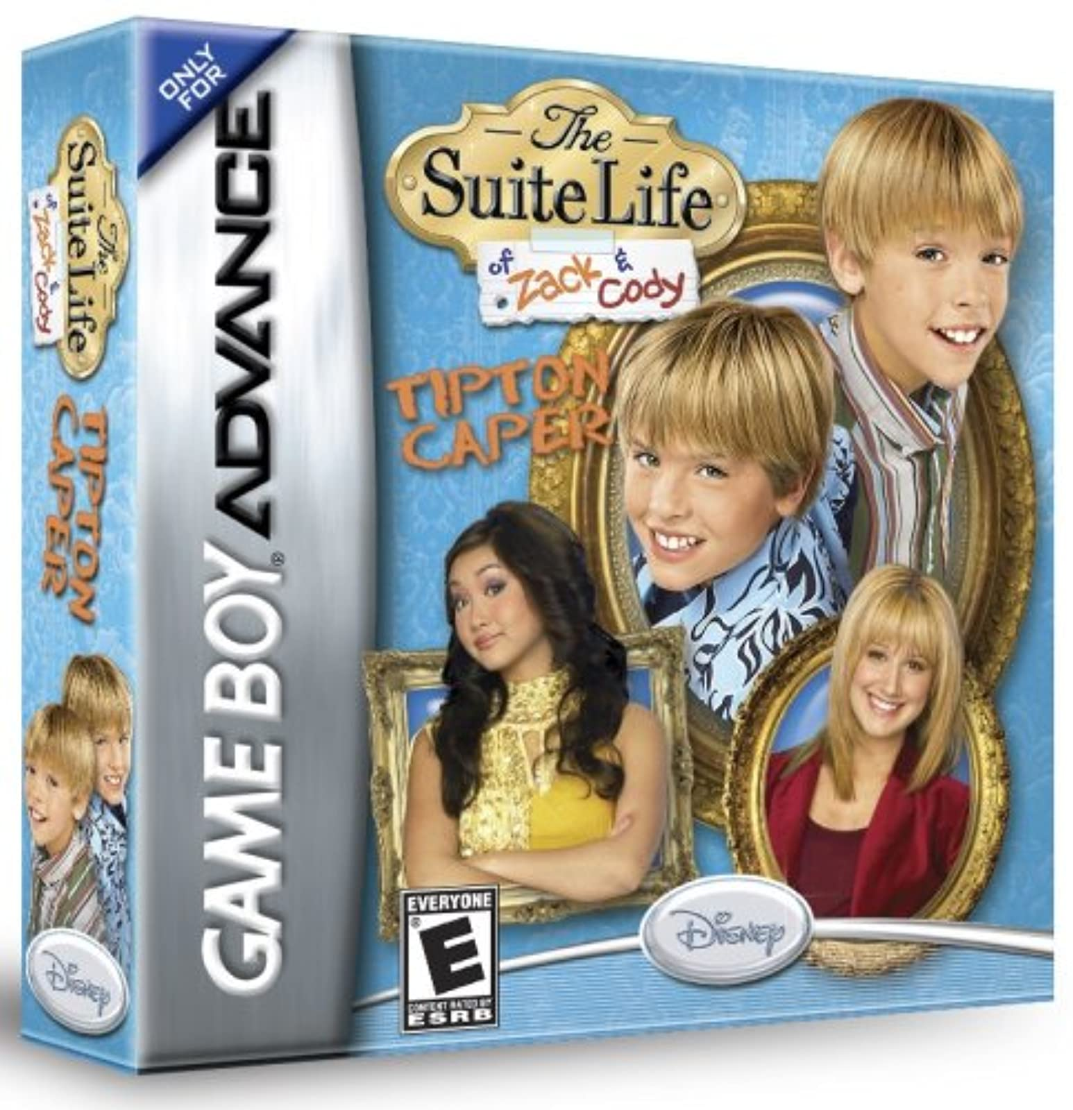 The Suite Life Of Zack & Cody: Tipton Caper Game Boy Advance For GBA