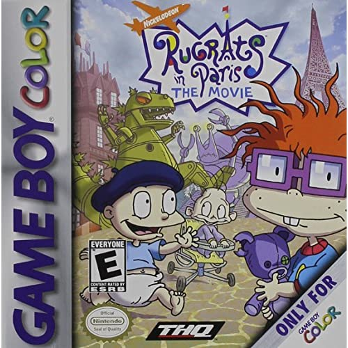 Rugrats In Paris: The Movie On Gameboy Color