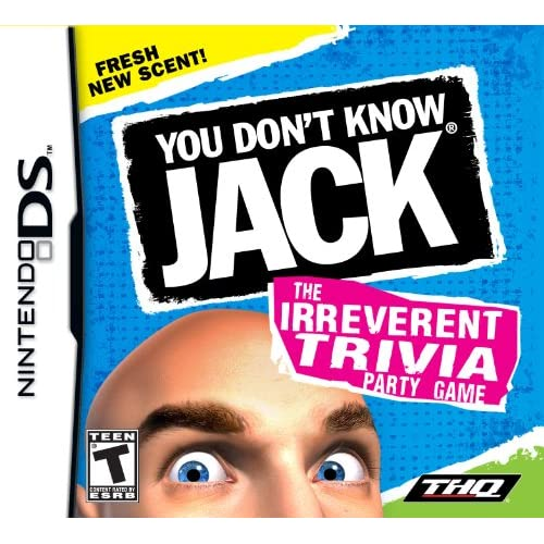 You Don't Know Jack For Nintendo DS DSi 3DS 2DS