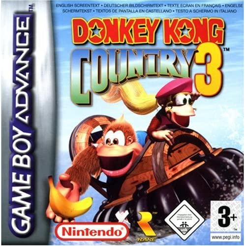 Donkey Kong Country 3 For GBA Gameboy Advance
