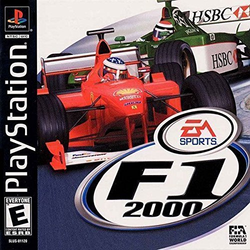 Formula One 2000 For PlayStation 1 PS1 Racing